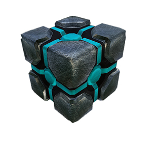 Куб из Crystal Rain
