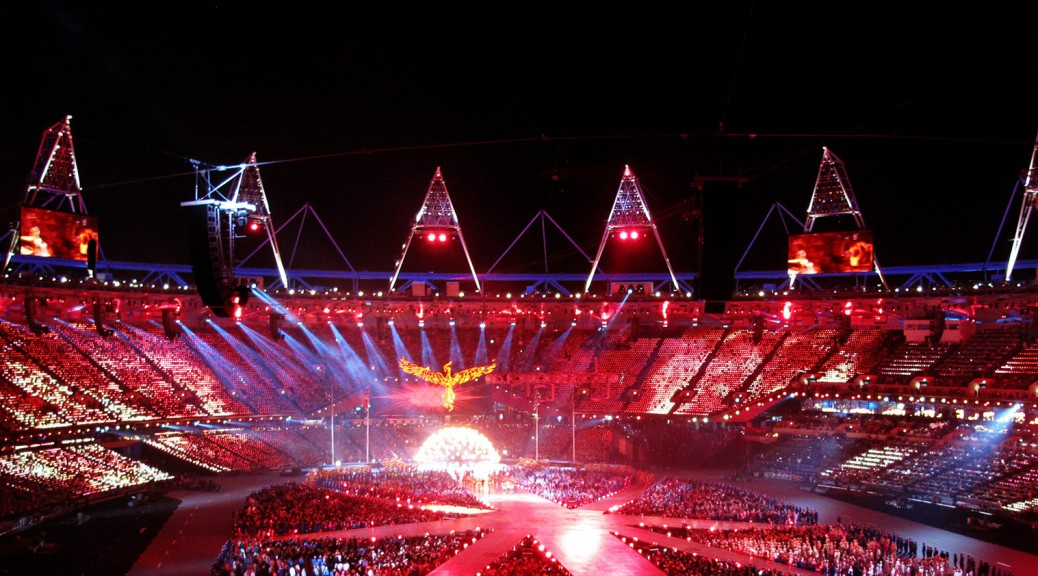 Olympic stadium 2012 Closing