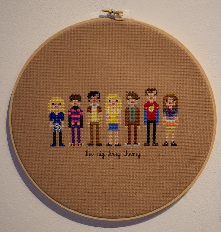 "Weelittlestitches ""Пиксельные люди: Теория Большого Взрыва"" (Weelittlestitches ""Pixel Peolpe: The Big Bang Theory"")(USA)"