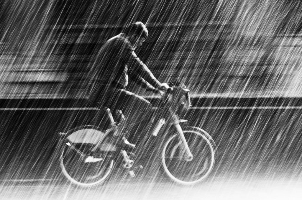 Струи дождя. Christian Muller.