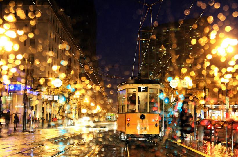 Дождь в Стамбуле. Burak Arik.
