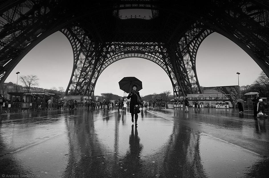 Дождь в Париже. Andrew Badenhorst.