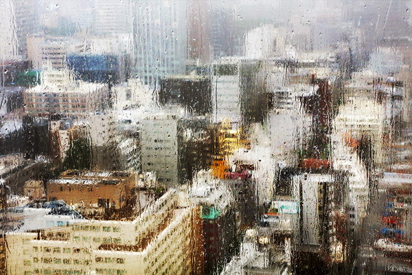 Дождь и небоскребы. Кристоф Жакро.