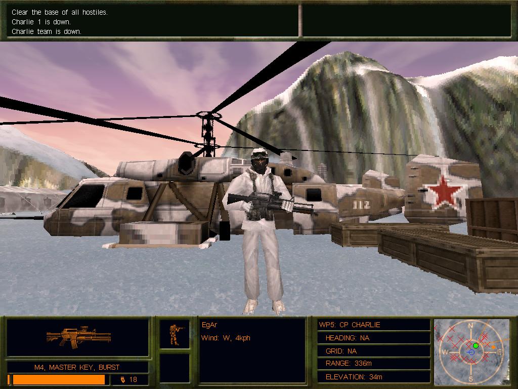 Whiteout: не все вертолёты смогли улететь