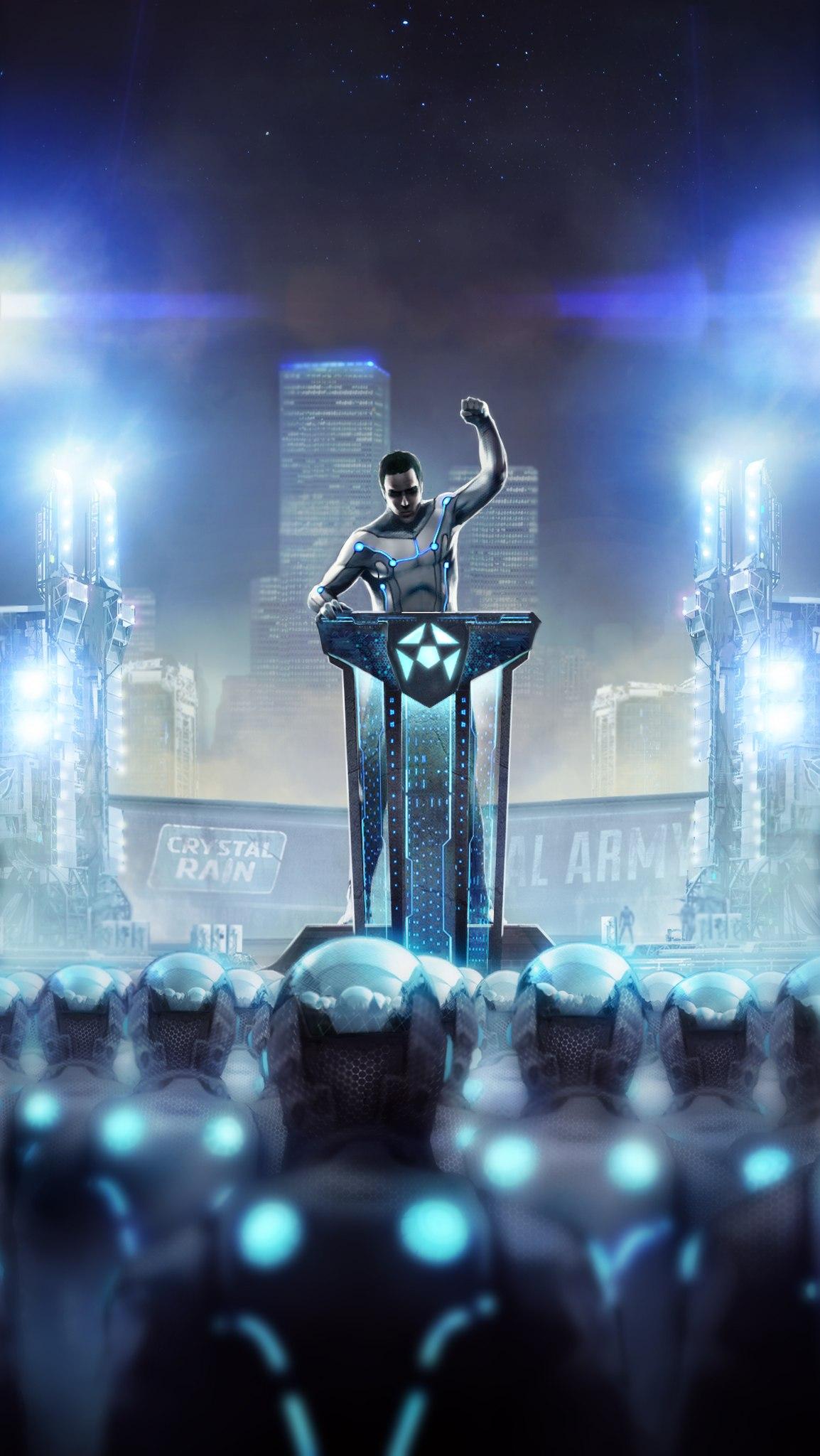 Вперед к победе Crystal Army!