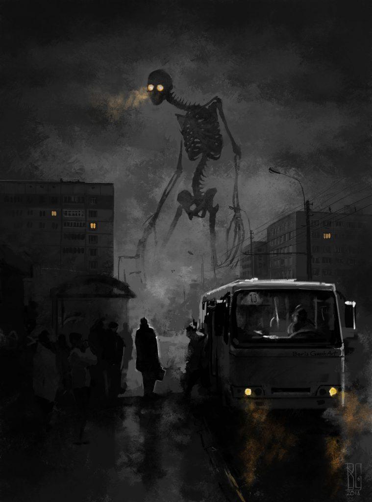 Борис Грох скелет в девятиэтажках